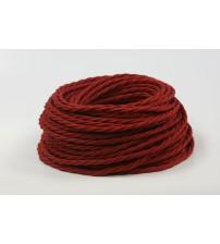 Витой провод 2х1,5 красный