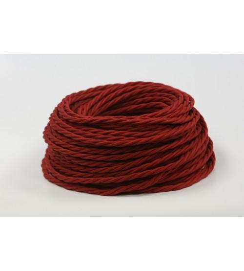 Витой провод 3х1,5 красный