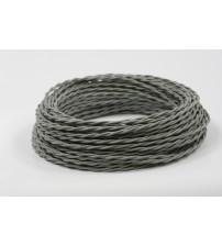Витой провод 2х1,5 серый