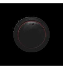 Накладка светорегулятора со свет. индик. (черный)