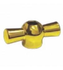 Тумблер поворотного выключателя (золото)