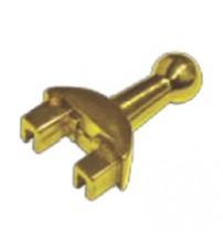 Тумблер рычажкового выключателя (золото)